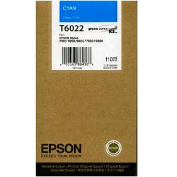 Epson T602200 Cartuccia cyano, capacit� 110ml
