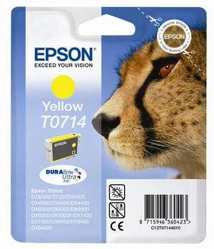 Epson t07144010  cartuccia giallo 5,5ml