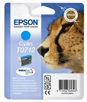 Epson t07124010 cartuccia cyano 5,5ml