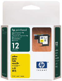 Hp C5026A  Testina di stampa giallo