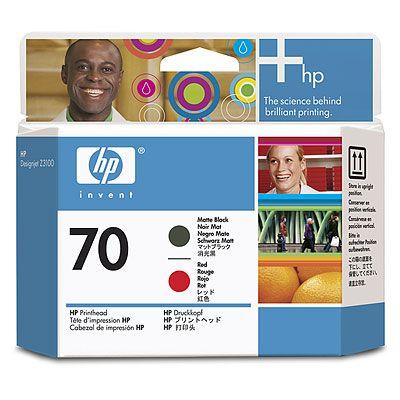 Hp C9409A Testina di stampa nero-opaco/rosso