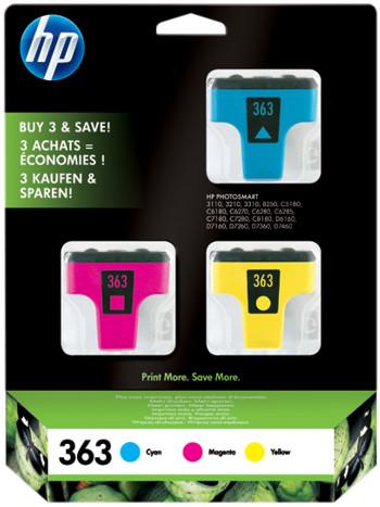 toner e cartucce - CB333EE Multipack ciano / magenta / giallo C8771EE +C8772EE +C8773EE