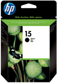 toner e cartucce - c6615de  cartuccia nero, capacit� indicata 25ml, durata 500 pagine