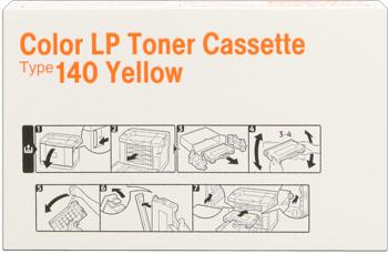 Infotec 402100 toner giallo, durata 6.500 pagine