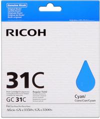 Ricoh GC31C Cartuccia d'inchiostro ciano