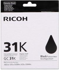 Ricoh GC31K Cartuccia d'inchiostro nero