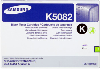 Samsung clt-k5082s toner nero, durata 2.500 stampe