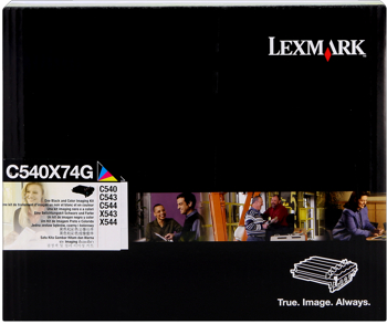 Lexmark C540X74G Tamburo nero e colore, durata 30.000 pagine + sviluppatore nero, cyano, magenta, giallo