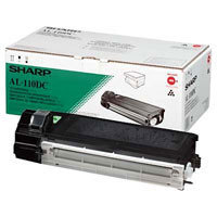 Sharp al-110dc Toner originale nero, durata 4.000 pagine