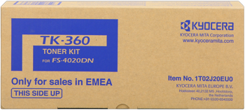 kyocera tk-360 toner originale 20.000p