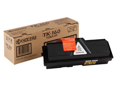 kyocera tk-160 toner originale nero, durata indicata 2.500 pagine