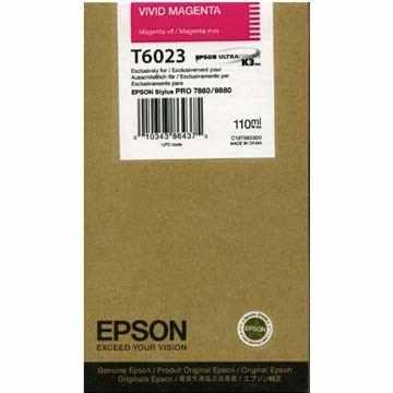 Epson T602300 cartuccia magenta 110ml