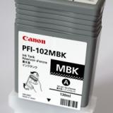 toner e cartucce - PFI-102mbk cartuccia nero opaco, capacità 130ml