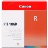 toner e cartucce - PFI-106R Cartuccia rosso, capacità 130ml