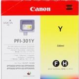 toner e cartucce - PFI-301y  Cartuccia giallo , capacità 330ml