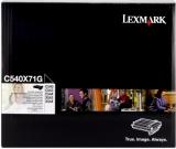 toner e cartucce - C540X71G  Tamburo nero imaging kit: PCU + sviluppatore bk