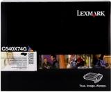 toner e cartucce - C540X74G  Tamburo nero e colore, durata 30.000 pagine + sviluppatore nero, cyano, magenta, giallo
