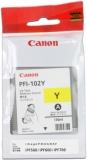 toner e cartucce - PFI-102y cartuccia giallo capacità 130ml