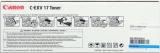 toner e cartucce - C-EXV17c  Toner cyano, durata  30.000 pagine