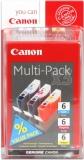 toner e cartucce - bci-6x Multipack 3 colori: cyano, magenta, giallo. Capacità 13 ml