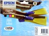 toner e cartucce - T58464010  cartuccia 4 colori e 150 fogli