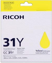 Nashuatec GC31HY Cartuccia giallo alta capa