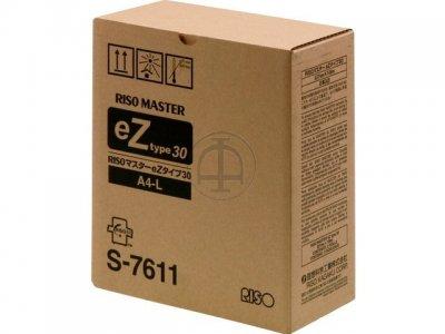 Risograph s-7611 master kit originale A4(2 pezzi)
