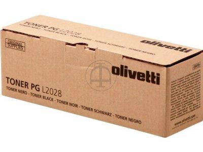 Olivetti B0739 toner originale nero, durata 4.000 pagine