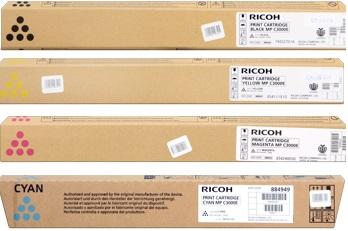 Ricoh 88495x Multipack originale 4 colori: cyano-magenta-giallo-nero