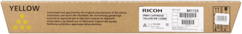 Ricoh 841125 toner giallo, durata 15.000 pagine