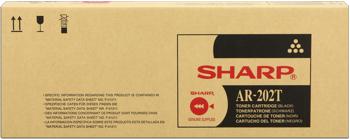 Sharp ar-202t toner originale nero, durata indicata 16.000 pagine