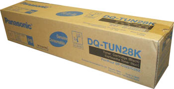 Panasonic dq-tun28k toner originale nero 28.000p