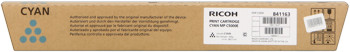 Ricoh 841163 toner cyano, durata 15.000 pagine
