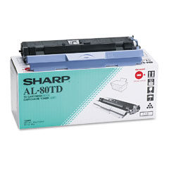 Sharp al-80td toner/developer originale