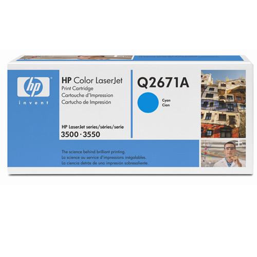 Hp q2671a toner cyano 4.000p