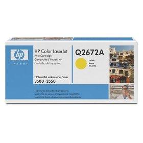 Hp q2672a toner giallo 4.000p