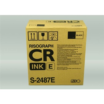 Risograph s-2487 cartuccia inchiostro kit nero (800cc)2PZ