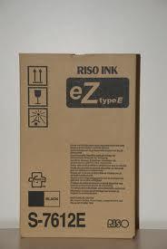 Risograph s-7612 inchiostro kit originale nero-2PZ