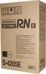 Risograph s-4205e cartuccia inchiostro kit nero(1000cc)2PZ