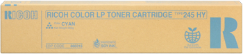 Gestetner 888315  toner cyano Hight Cap, durata 15.000 pagine