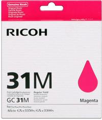 Ricoh GC31HM Cartuccia magenta alta capacit�