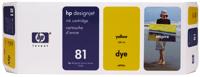 Hp C4933A cartuccia originale giallo, capacit� 680ml
