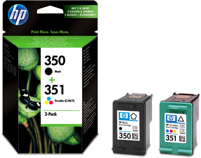 Hp SD412EE HP 350 + 351 (SD412EE)Multipack nero / differenti colori