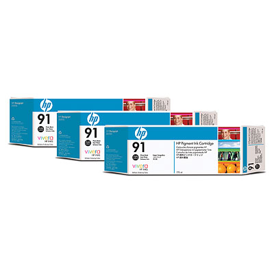 Hp C9481A cartuccia nero foto 775ml 3PZ