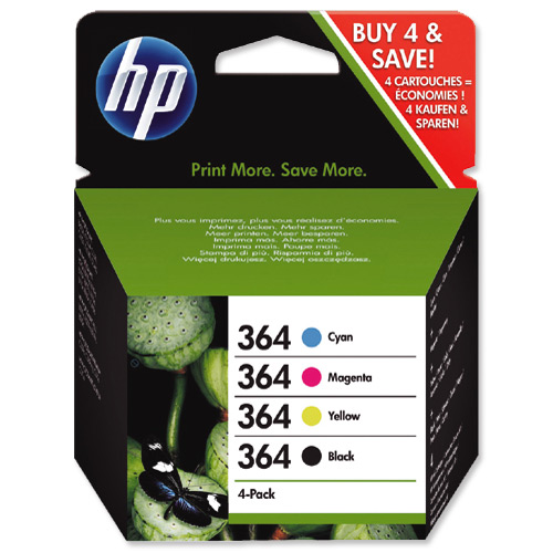 Hp SD534EE  Value Pack bk/m/c/y capacit� standard