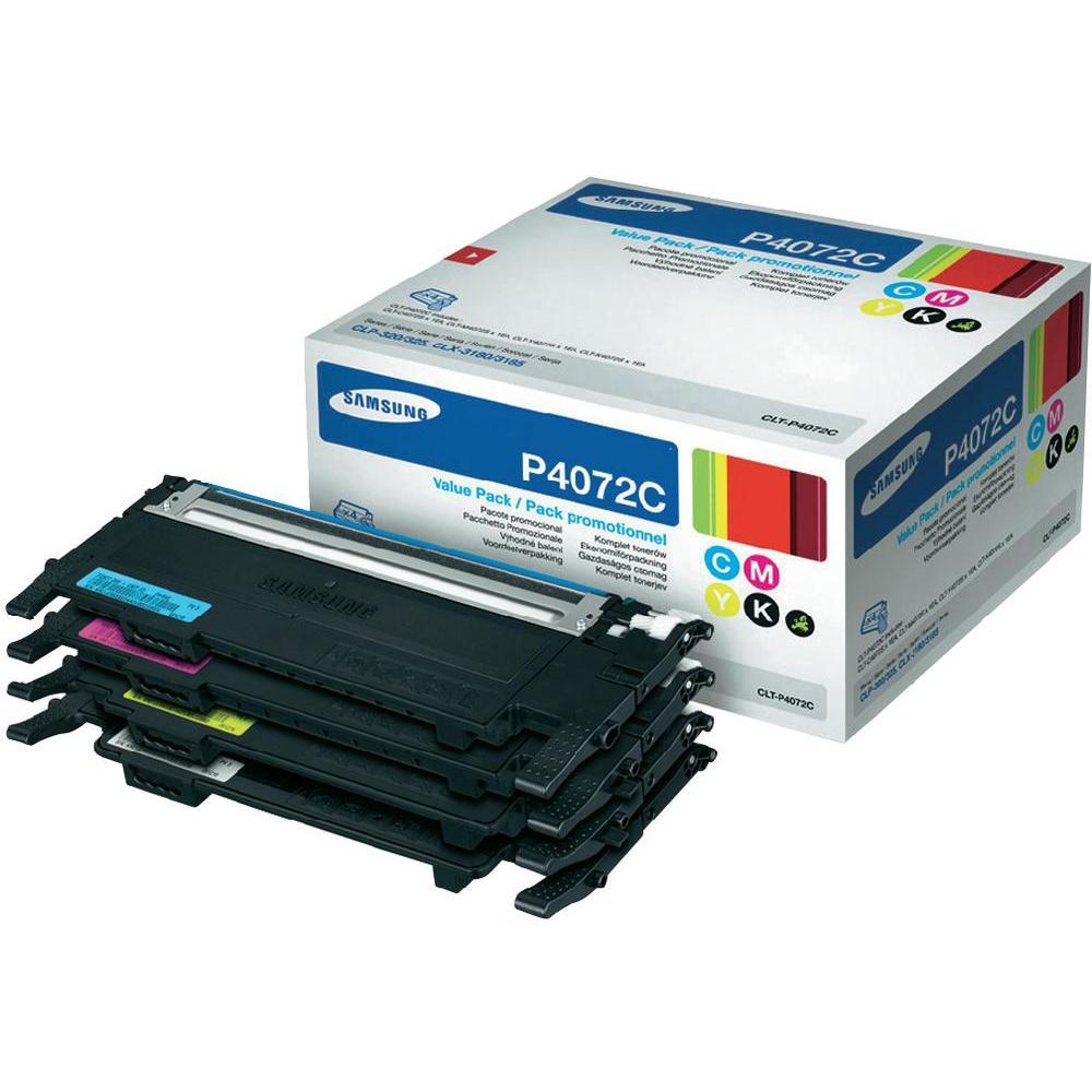 Samsung CLT-P4072C  Multipack originale 4 colori: nero-cyano-magenta-giallo