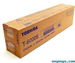 Toshiba T-6000E toner originale nero, durata indicata 60.000 pagine