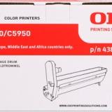 toner e cartucce - 43870023 Tamburo di stampa cyano durata 20.000p