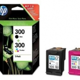 toner e cartucce - CN637EE Multipack nero+colore 2 cartucce d' inchiostro HP 300: CC640EE + CC643EE