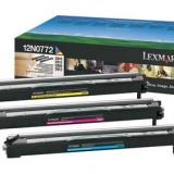 toner e cartucce - 12N0772  Tamburo di stampa colore: cyano, magenta, giallo. Durata 28.000 pagine